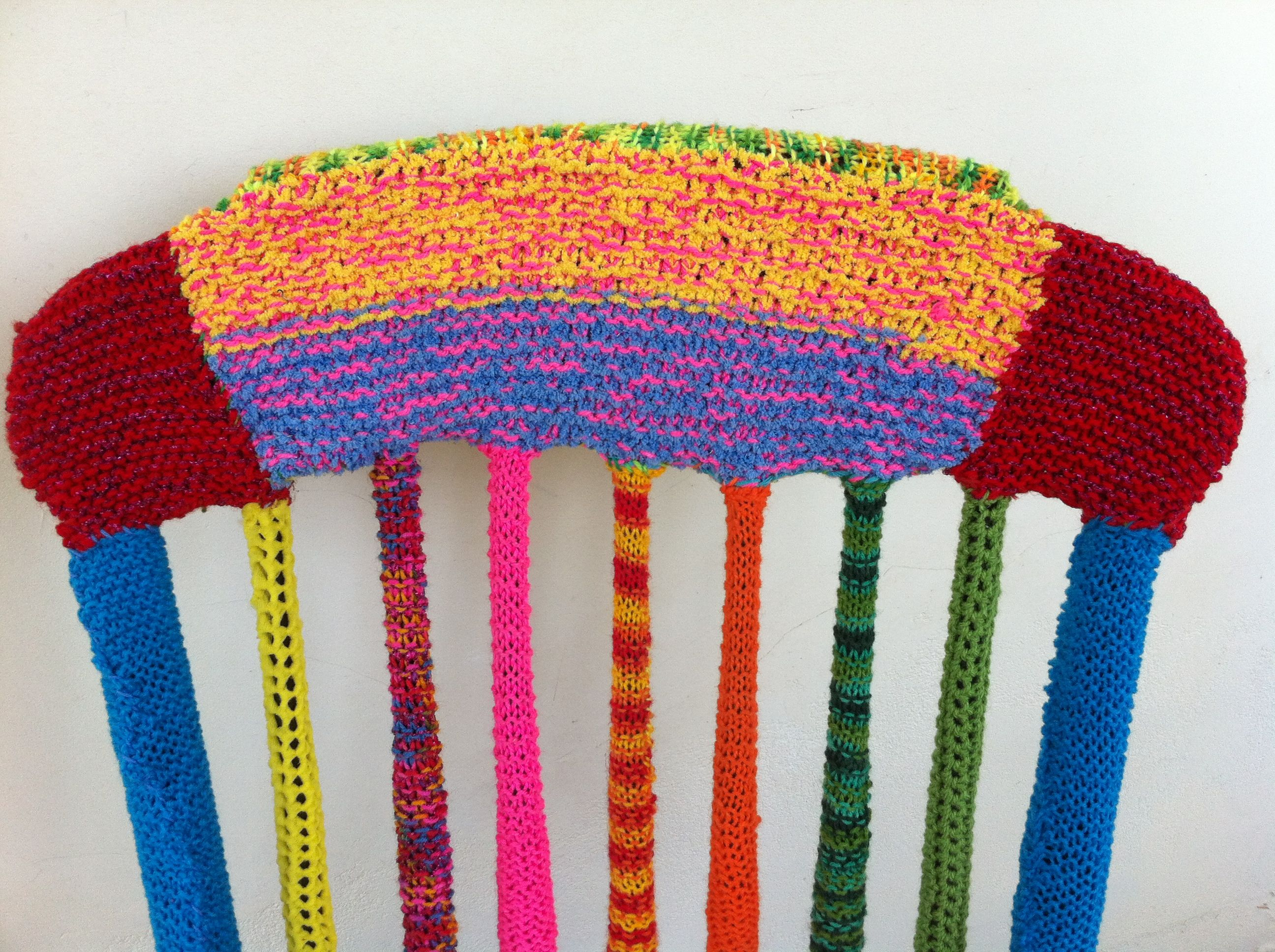 rocking chair | YARN BOMBING
