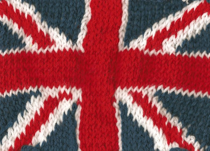 Knitting Pattern For Union Jack : Crochet Union Jack