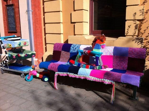 yarn bombing toys
