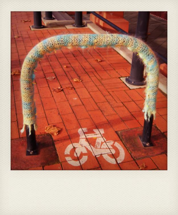 bike rack yarn