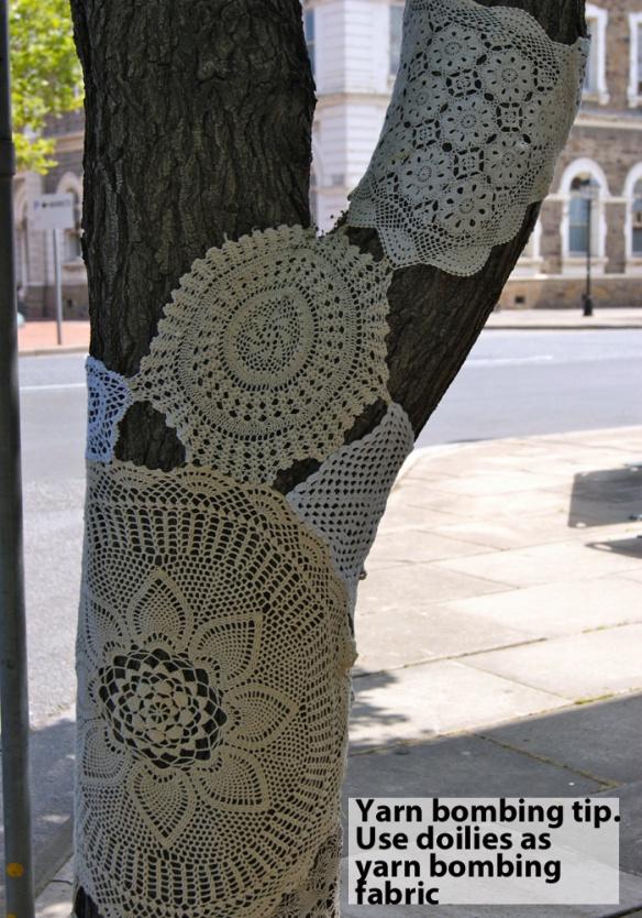 вязаное граффити