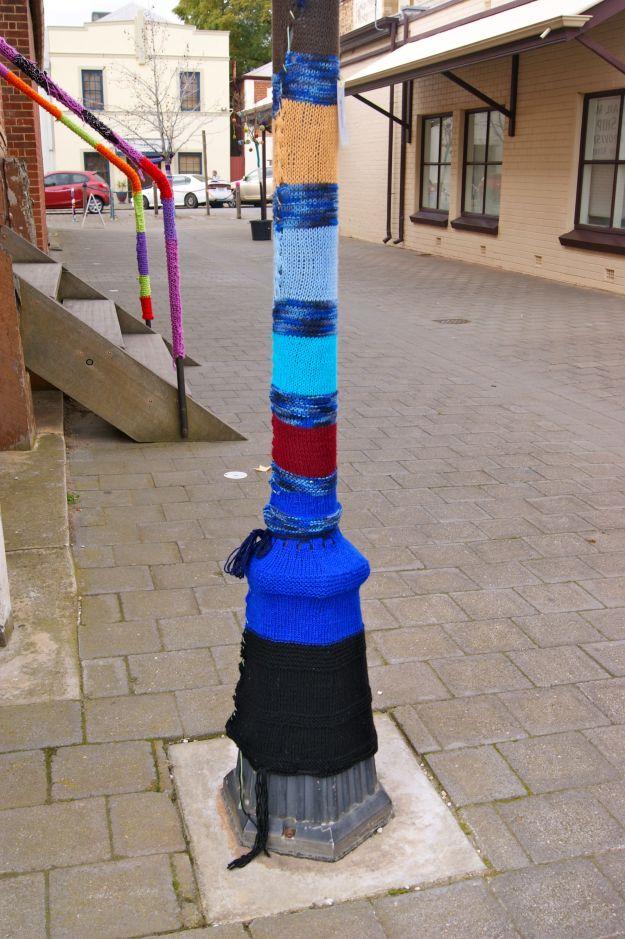 Yarn Bombed Yarn Bombing