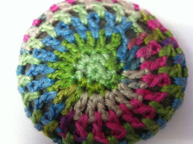 yarn bomb rock