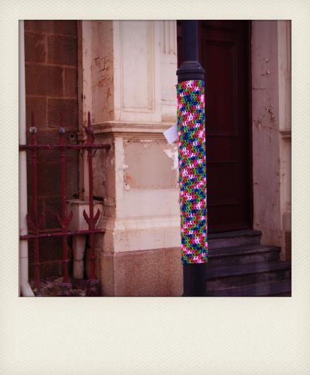 yarn bombing polaroid 3