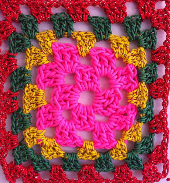 rope crochet square 2