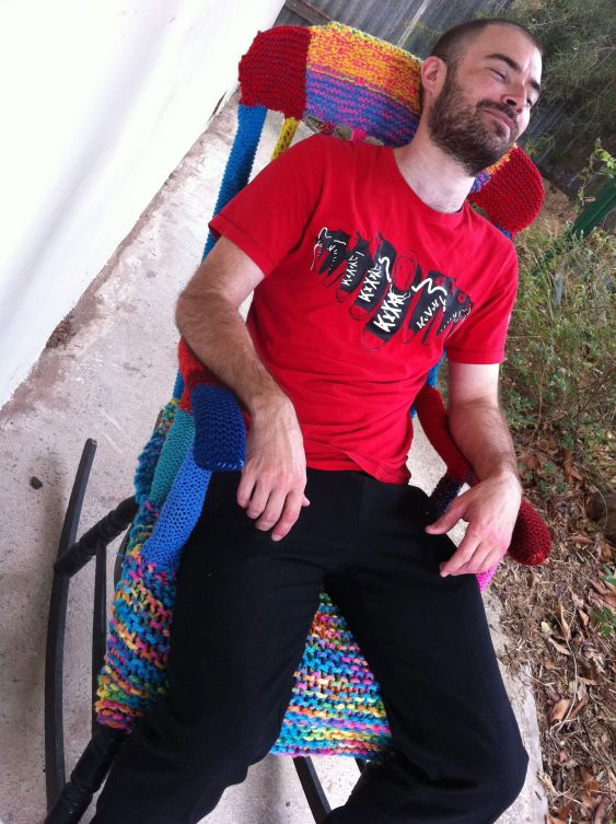 yarn bomb rocker
