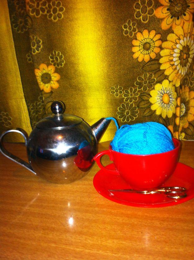 yarn tea