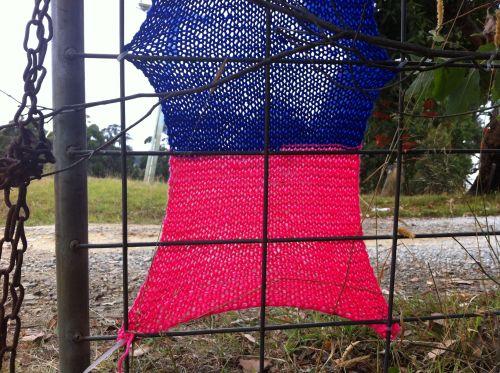 yarn bomb gate