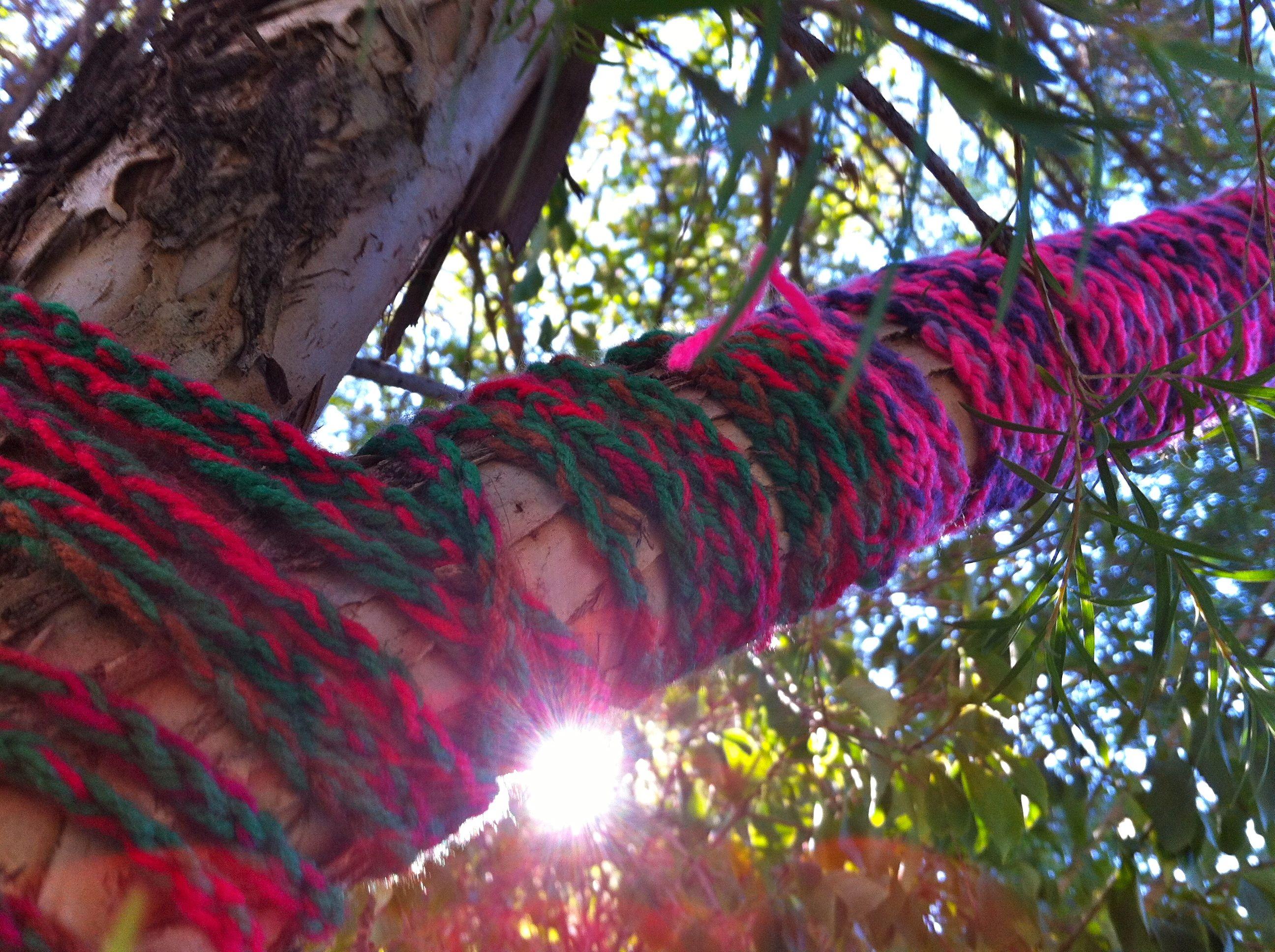 Home Yarn Bombing