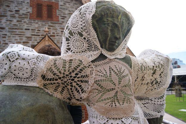 yarn bombing state crochet adelaide