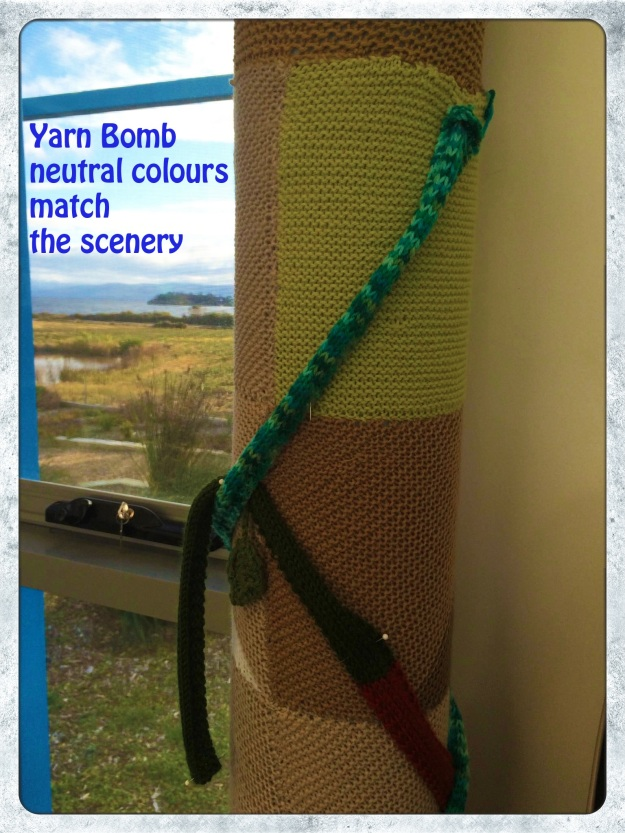 bruny island yarn bombing 3 copy